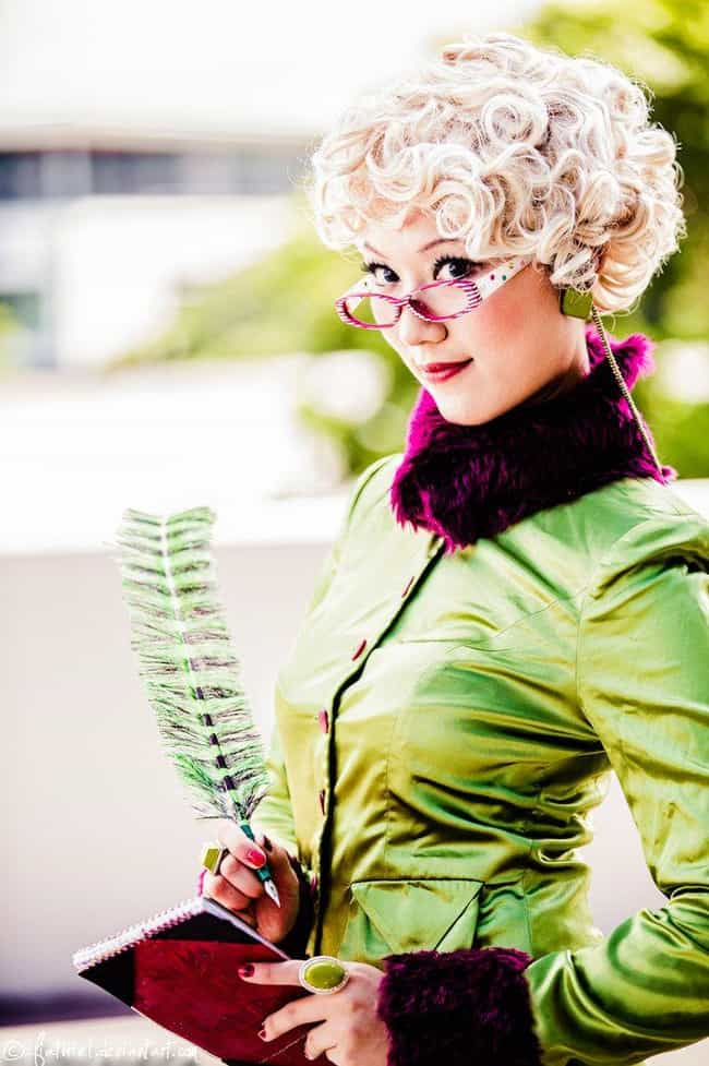 Rita Skeeter - How About... is listed (or ranked) 1 on the list Totally Magical Harry Potter Cosplay