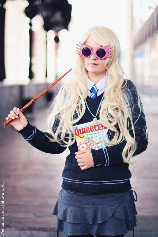 Luna Lovegood is listed (or ranked) 2 on the list Totally Magical Harry Potter Cosplay