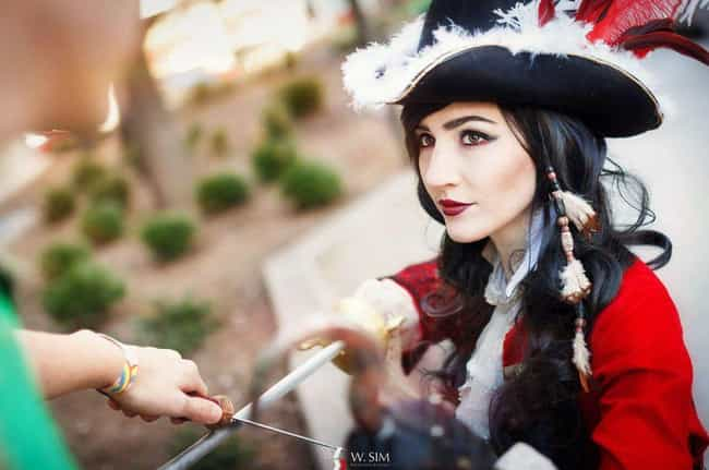 Captain Hook is listed (or ranked) 1 on the list Genderbent Disney Characters That Will Make You Do A Double-Take