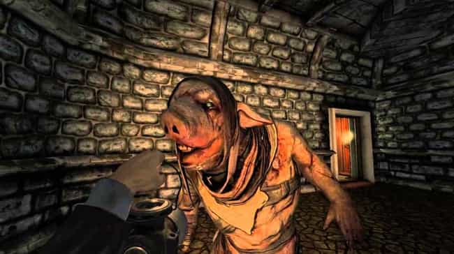 Amnesia: A Machine For P... is listed (or ranked) 4 on the list Pretty Good Horror Games, Ranked By Gamers Who Appreciate A Solid Scare