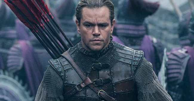 Ironically, The Chinese ... is listed (or ranked) 3 on the list Is The Great Wall The Future Of Cinema? Why Did It Fail At The US Box Office?