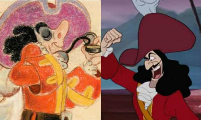 Was Captain Hook Supposed To Wear That Much Eyeshadow?
