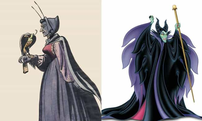 Maleficent Started Off As A Me... is listed (or ranked) 3 on the list Disney Concept Art That's Way Crazier Than What Ended Up In The Movie