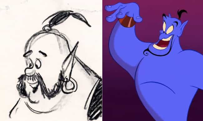 The Genie Used To Look Much Less Goofier