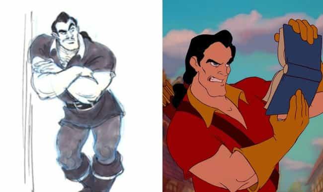Gaston Almost Had A Moustache
