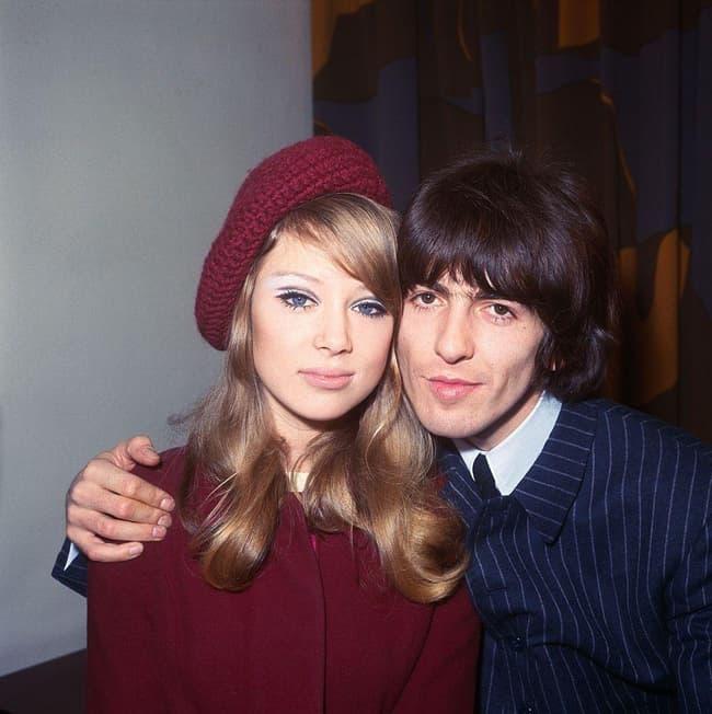 George Harrison, Eric Clapton, And Pattie Boyd, AKA