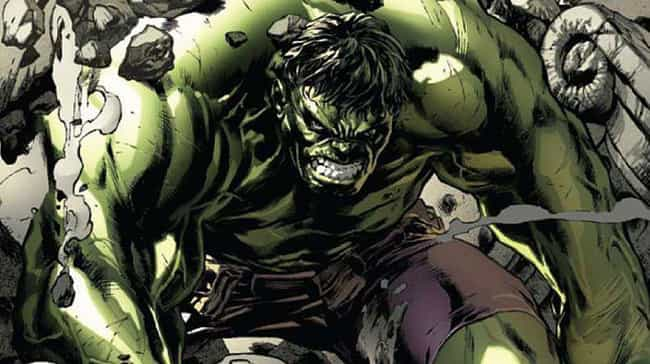 The Incredible Hulk's Si... is listed (or ranked) 13 on the list 15 Of The Biggest Characters In Comic Books, Ranked From Smallest To Largest