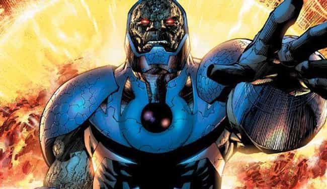 Darkseid Isn't Just A Fa... is listed (or ranked) 12 on the list 15 Of The Biggest Characters In Comic Books, Ranked From Smallest To Largest