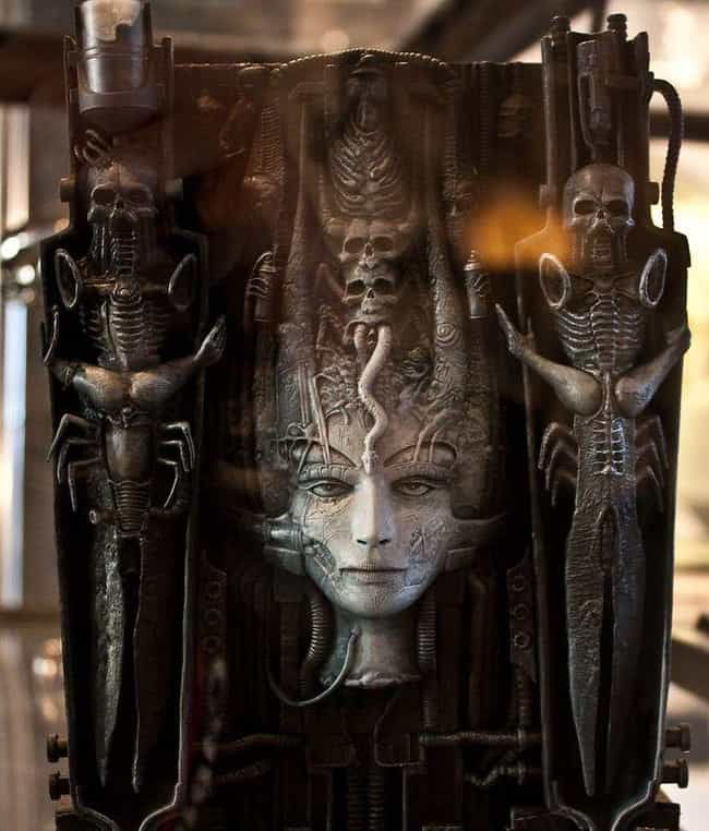 His Girlfriend's Suicide... is listed (or ranked) 2 on the list 12 Creepy Facts About H.R. Giger, The Artist Who Designed The Alien From 'Alien'
