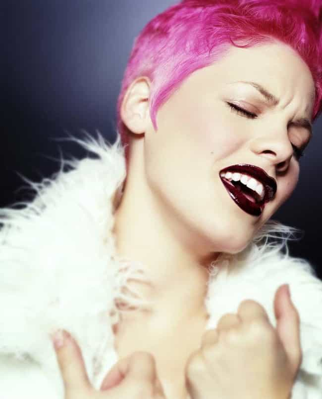 1999: When P!nk Was Actually P... is listed (or ranked) 2 on the list The Evolution Of P!nk's Vibrant Hairstyles Over The Years