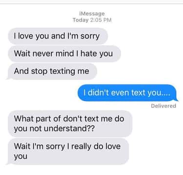 What to do when your ex texts you