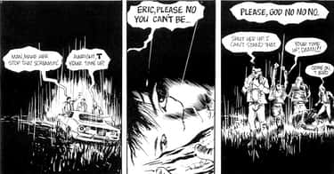 Eric Draven is listed (or ranked) 1 on the list The 13 Most Harrowing Superhero Origin Stories