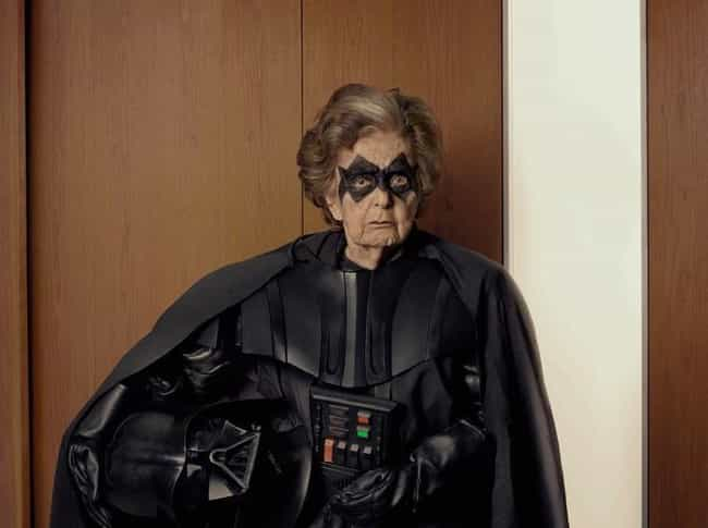 Grandma Vader is listed (or ranked) 2 on the list 18 Older Cosplayers Who Prove That Age Is Just A Number