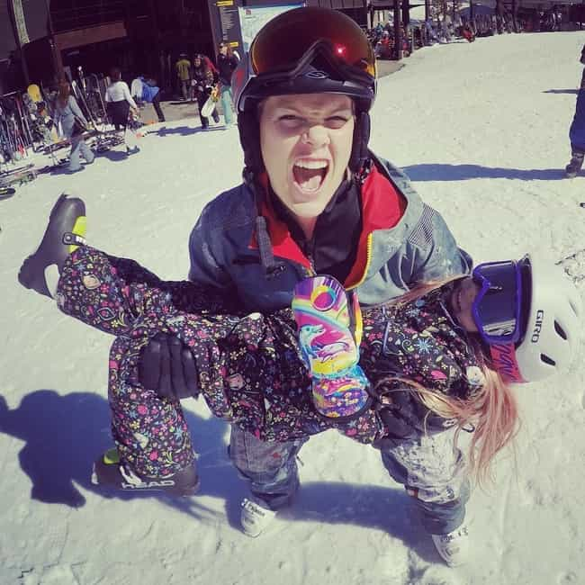 Taking The Slopes And St... is listed (or ranked) 4 on the list 23 Photos That Prove P!nk Is The Coolest Mom In Hollywood