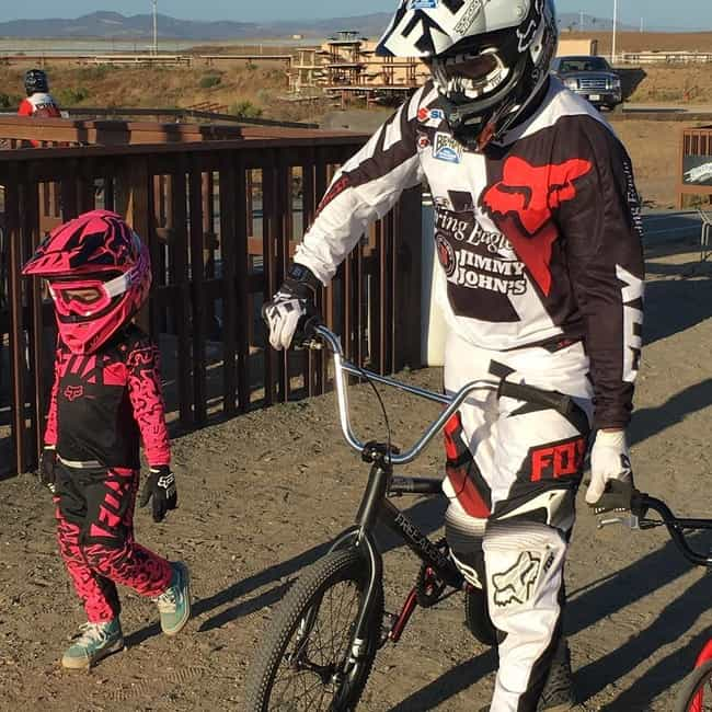 Daddy's Little Dirtbiker... is listed (or ranked) 3 on the list 23 Photos That Prove P!nk Is The Coolest Mom In Hollywood