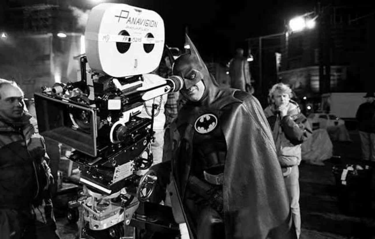 "Batman Directs, ""Batman&#3 is listed (or ranked) 2 on the list Behind-The-Scenes Photos Of Actors Just Chillin' In Their Costumes"