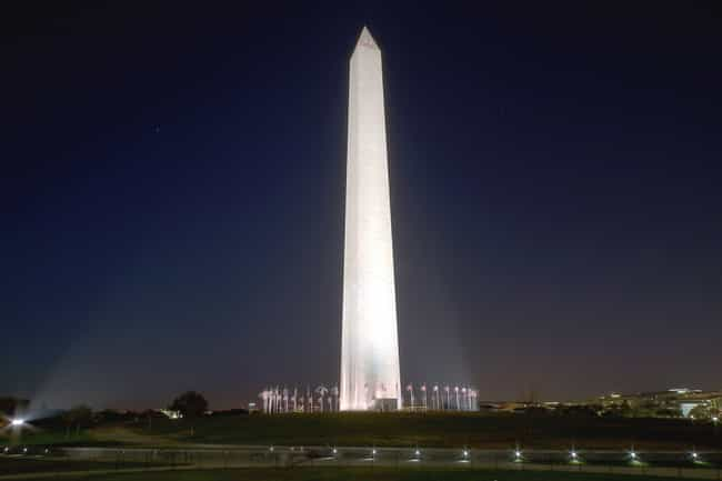 The Washington Monument ... is listed (or ranked) 1 on the list 8 Secret Symbols Hidden in Plain Sight in Washington, DC