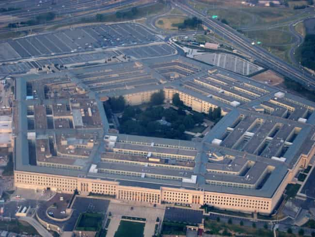 The Pentagon Is A Satani... is listed (or ranked) 3 on the list 8 Secret Symbols Hidden in Plain Sight in Washington, DC