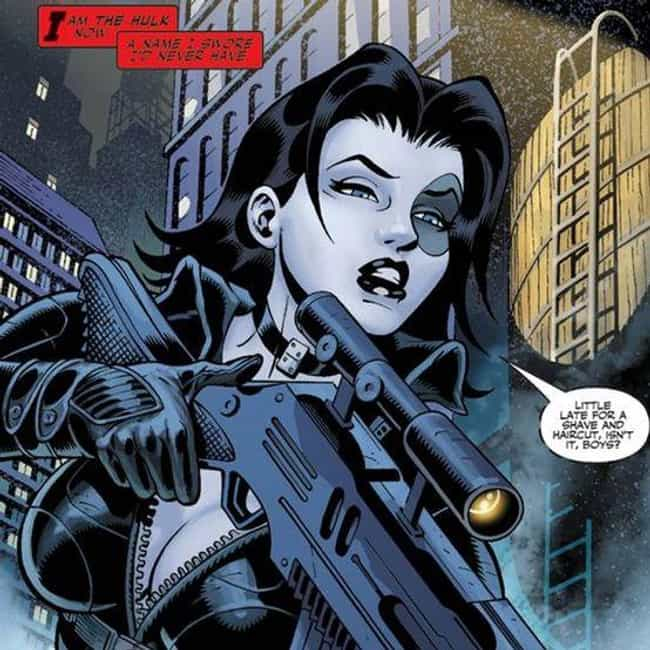 She Discovered The Ident... is listed (or ranked) 4 on the list 13 Things Most Fans Don't Know About Domino, Marvel's Coolest Mutant