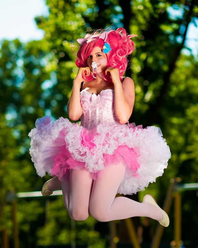 Pinkie Pie is listed (or ranked) 4 on the list My Little Pony Cosplay That Doesn't Horse Around