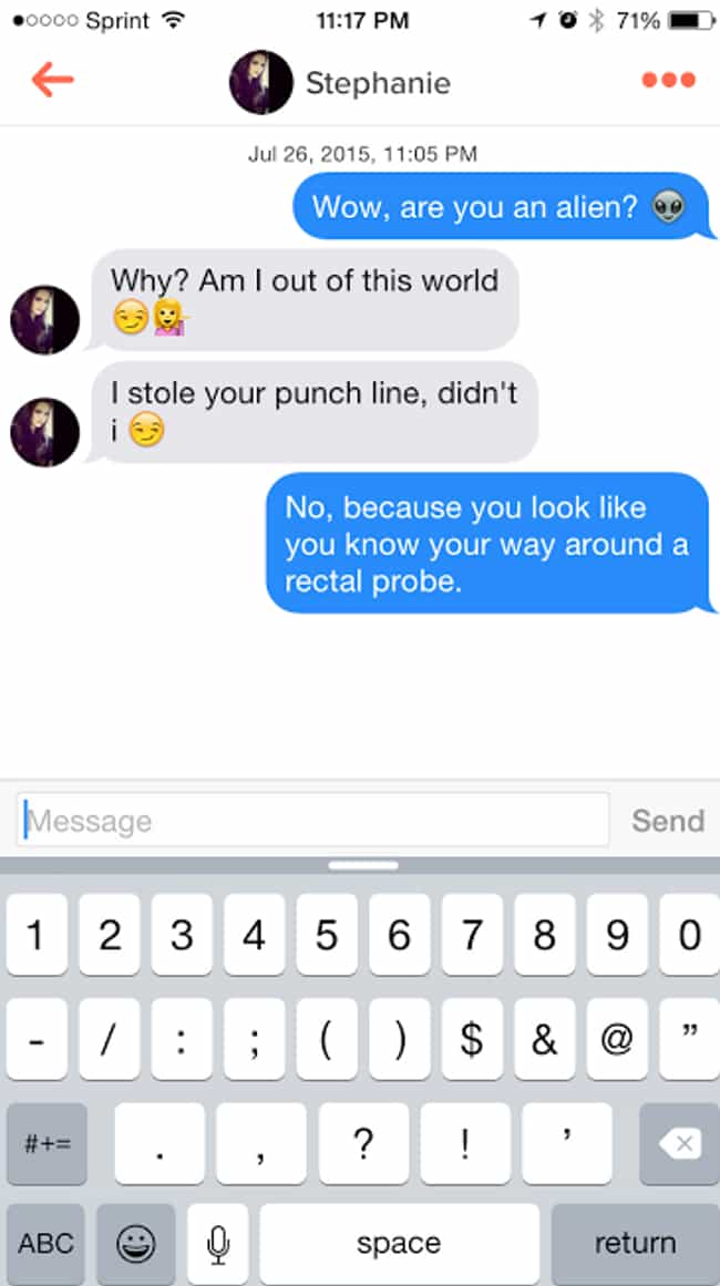 Ridiculous Tinder Pickup Lines Guys Think Will Really Work