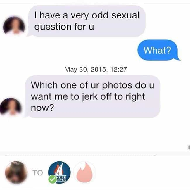 Preferably Neither is listed (or ranked) 1 on the list Ridiculous Tinder Pickup Lines Guys Think Will Really Work