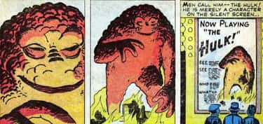Orange Blob Hulk is listed (or ranked) 2 on the list All The Colors The Hulk Has Been (And Why)