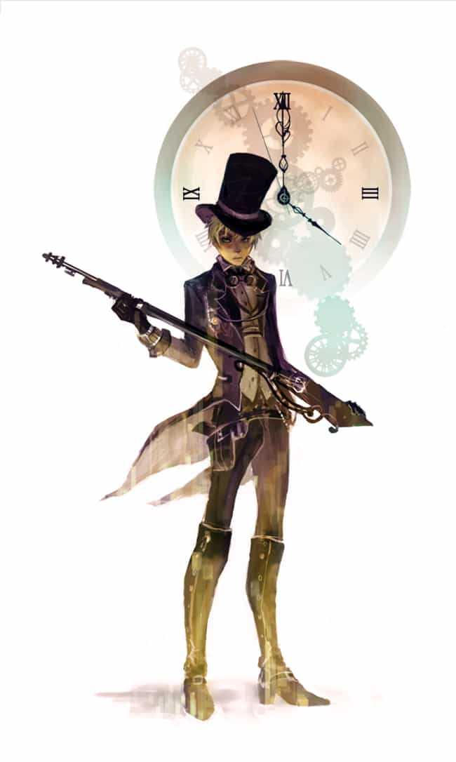 England, Hetalia is listed (or ranked) 6 on the list 22 Steampunk Versions Of Your Favorite Anime Characters