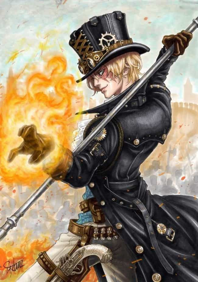 Sabo, One Piece is listed (or ranked) 4 on the list 22 Steampunk Versions Of Your Favorite Anime Characters
