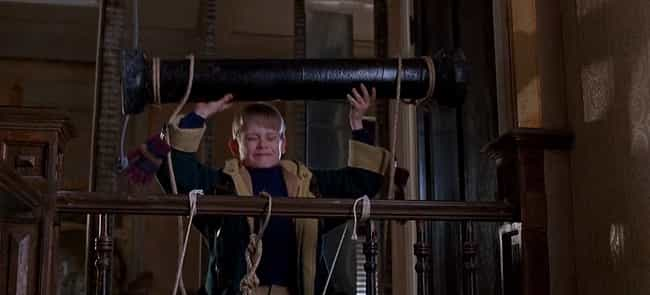 Kevin Throws A Steel Pip... is listed (or ranked) 3 on the list All The Traps In Home Alone and Home Alone 2, Ranked By Horrific Brutality