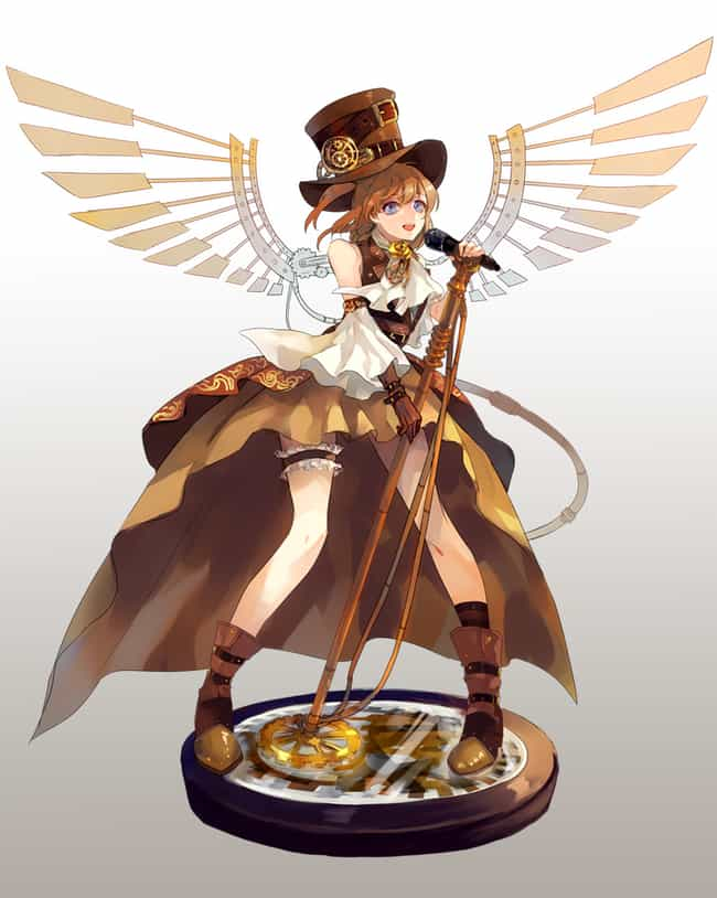 Honoka, Love Live is listed (or ranked) 12 on the list 22 Steampunk Versions Of Your Favorite Anime Characters