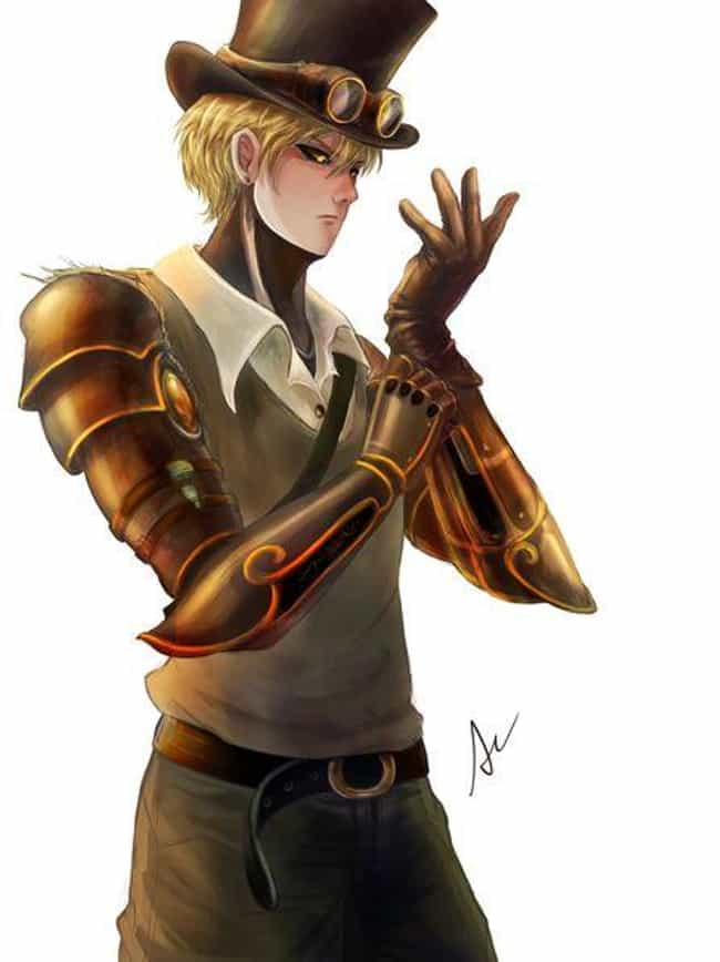 Genos, One Punch Man is listed (or ranked) 7 on the list 22 Steampunk Versions Of Your Favorite Anime Characters