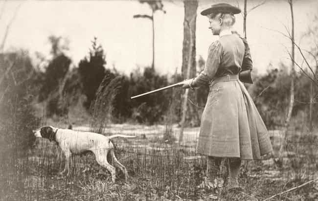 She First Picked Up A Gun At A... is listed (or ranked) 1 on the list 15 Badass Facts About Annie Oakley That Prove She Could Outshoot Any Man