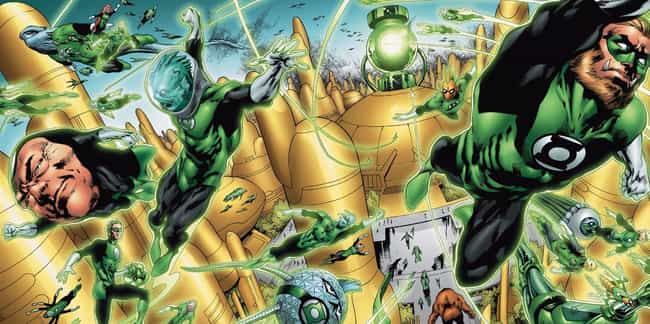 The Green Lantern Corps' H... is listed (or ranked) 4 on the list The Most Obscure Bits Of Green Lantern Mythology Explained