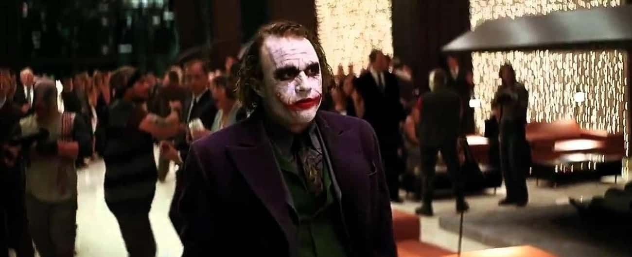 The Joker Just Sort Of Leaves  is listed (or ranked) 2 on the list Gaping Plot Holes You Won't Be Able To Unsee In The Dark Knight