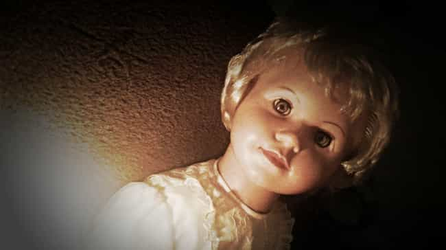Peggy Can Curse You With A Sin... is listed (or ranked) 2 on the list 11 Super Haunted Cursed Dolls That Will Induce Nightmares