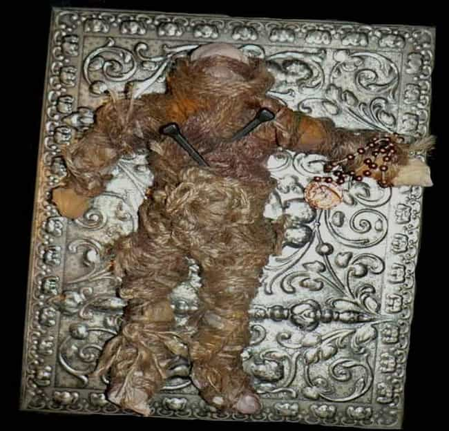 The Voodoo Doll That Wouldn... is listed (or ranked) 1 on the list 11 Super Haunted Cursed Dolls That Will Induce Nightmares