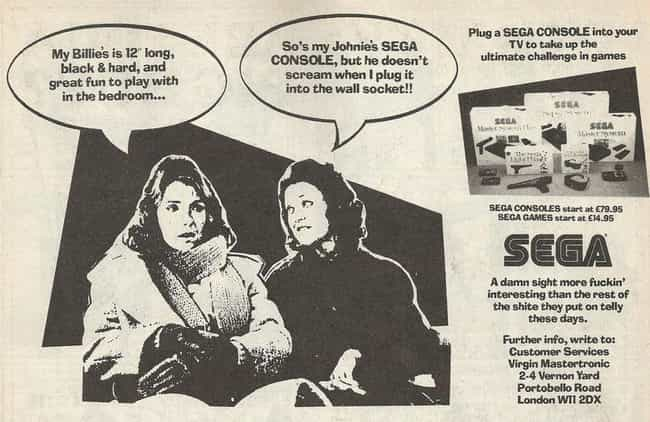 Fun In The Bedroom is listed (or ranked) 1 on the list Weirdly Dirty Sega Ads You Won't Believe Actually Ran In The '90s