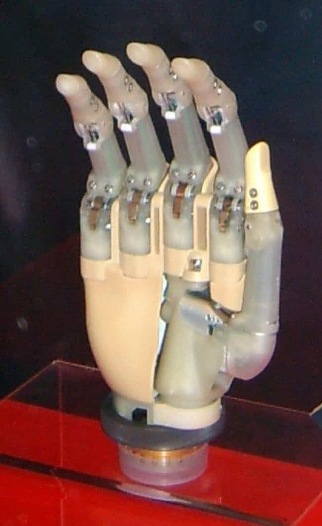 They're Built Of Lightwe... is listed (or ranked) 3 on the list How Do Bionic Prosthetics Work?