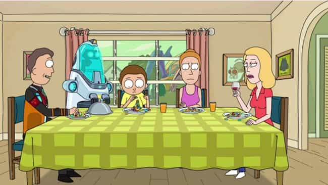 The Smith Family Has A..... is listed (or ranked) 3 on the list Everything You Missed From The Surprise Season Premiere Of Rick And Morty