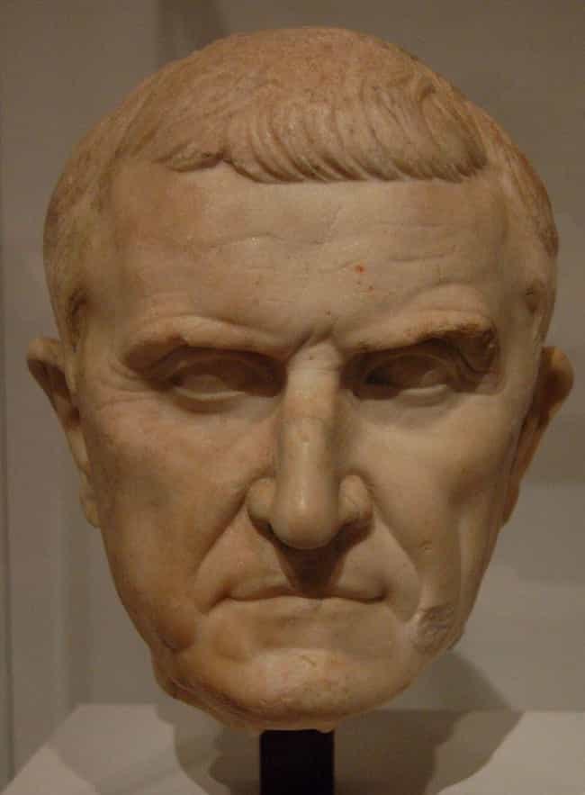 He Was One Of The Richest Men ... is listed (or ranked) 3 on the list The Shocking & Bizarre Life of the Man Who Killed Spartacus