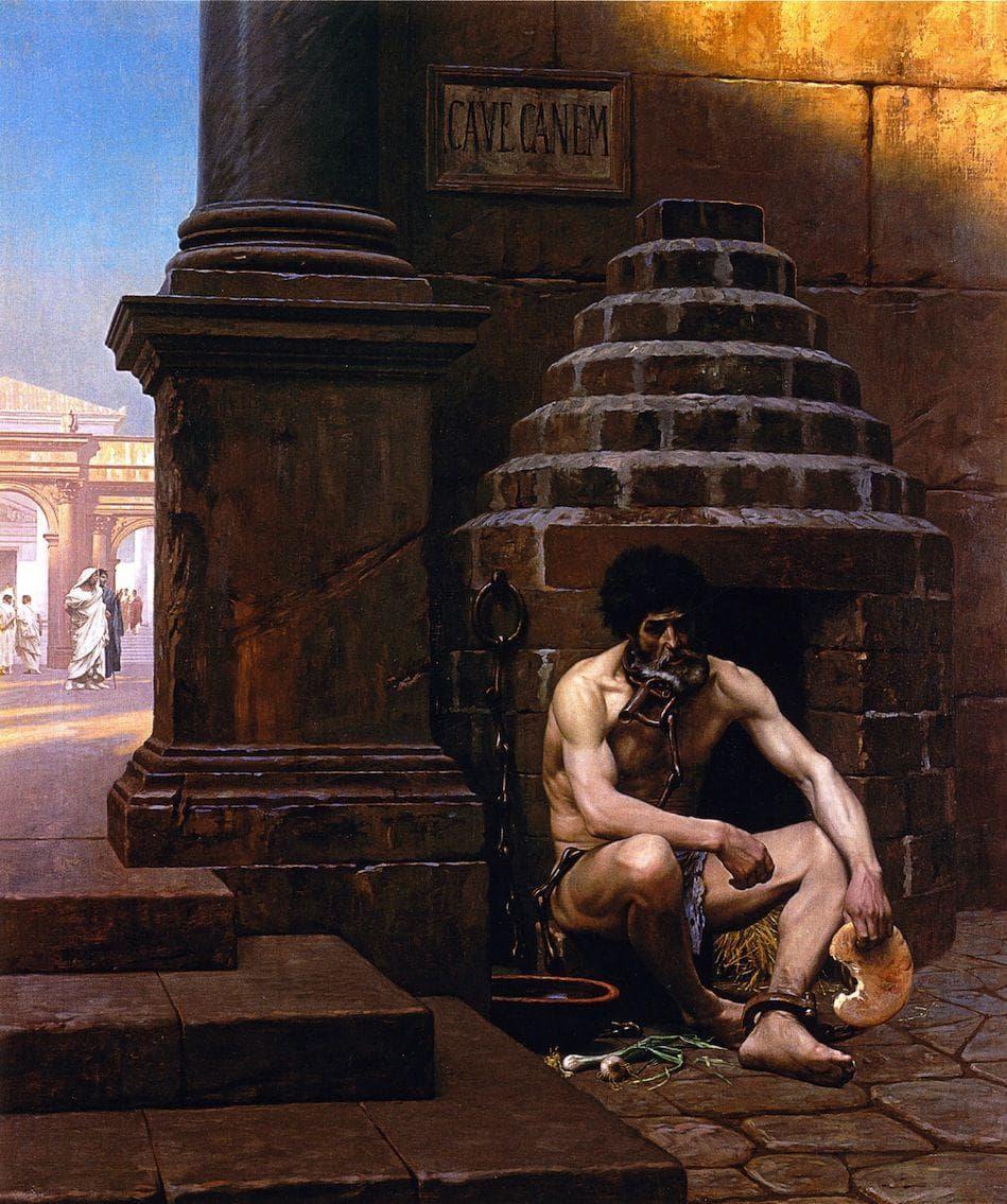 Random Shocking & Bizarre Life of the Man Who Killed Spartacus