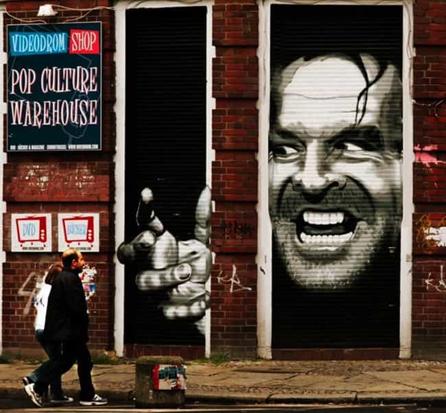 A Shining Example Of Mov... is listed (or ranked) 2 on the list Amazing Acts Of Movie Graffiti