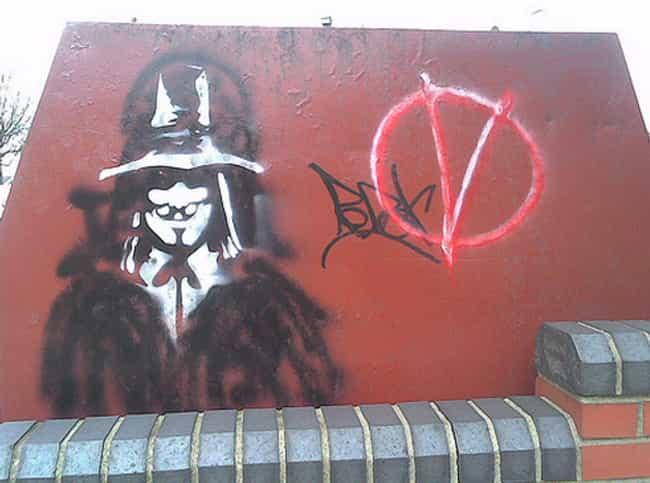 Amazing Acts Of Movie Graffiti