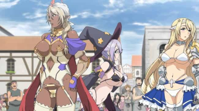 """The Entire Cast Of """"... is listed (or ranked) 4 on the list 19 'Stripperific' Anime Outfits That Are Wildly Lewd"""