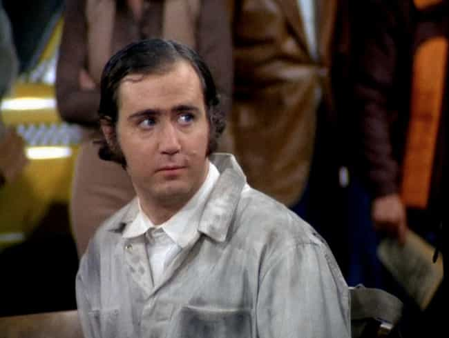 He Once Took An Entire Audienc... is listed (or ranked) 1 on the list 22 Insane Stories About Andy Kaufman That Prove He's An All-Time Legend