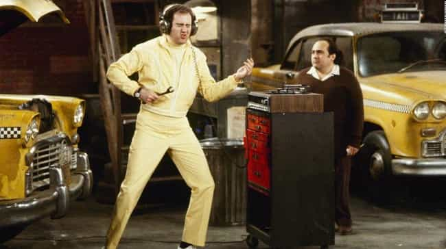 He Never Rehearsed On Taxi is listed (or ranked) 3 on the list 22 Insane Stories About Andy Kaufman That Prove He's An All-Time Legend