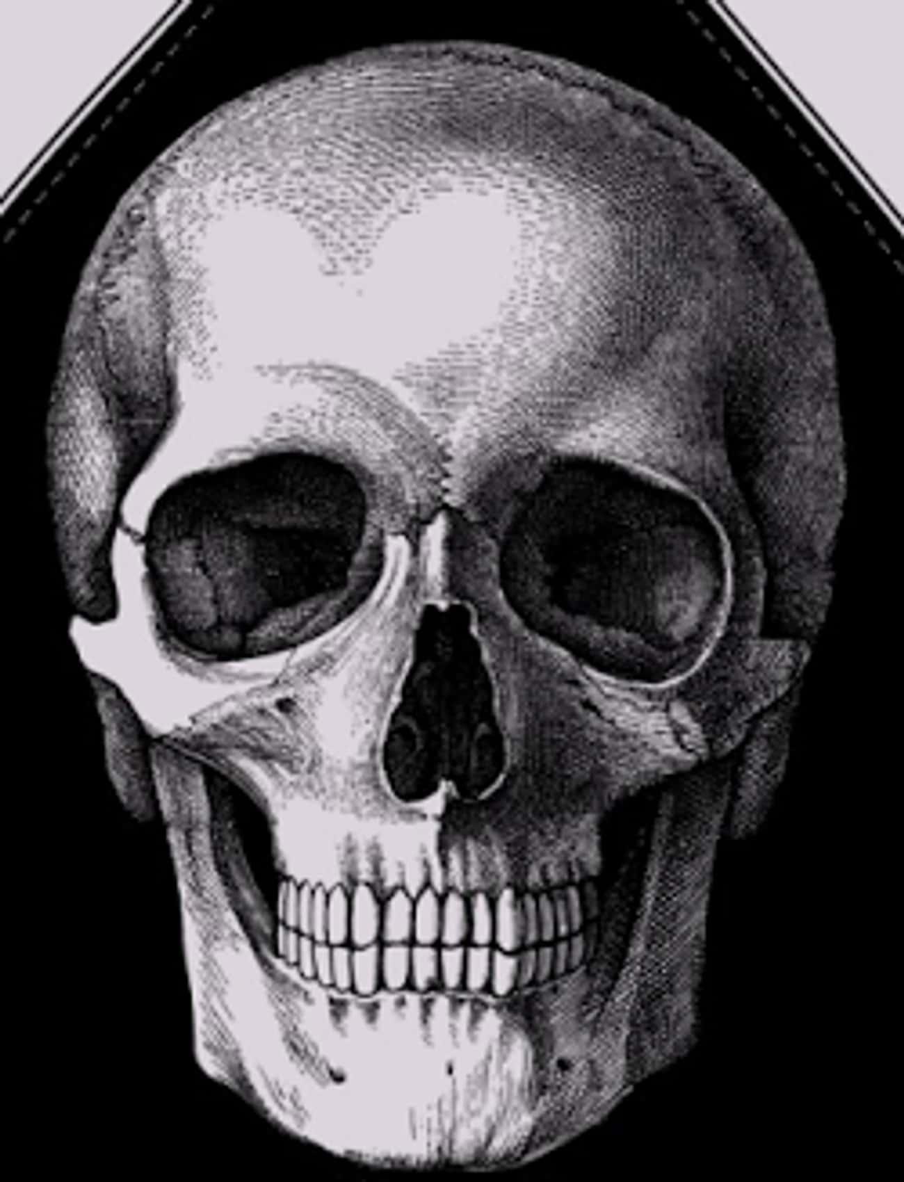 Crosses And Skulls Between The Eyes