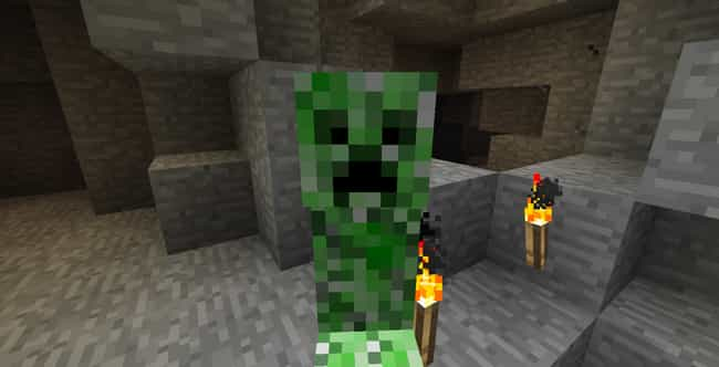The Creepers In Minecraf... is listed (or ranked) 4 on the list 15 Video Game Character Designs With Strange And Hilarious Origin Stories