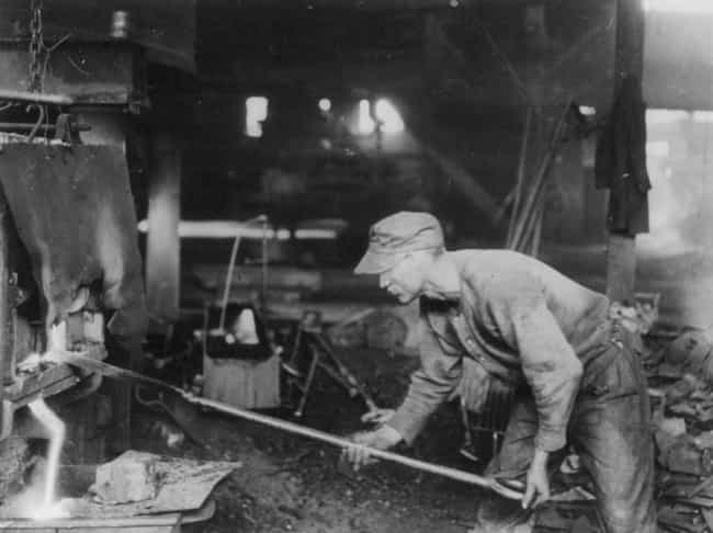 Steel Mill Work Was Brut... is listed (or ranked) 3 on the list 10 Brutal Facts About How Horrible Life Was In The Pittsburgh Steel Mills